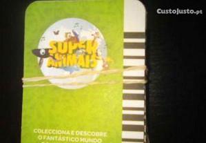 Cartas Super animais 1,2 e 3 Pingo doce