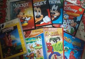 Filmes dvd Walt Disney originais novos