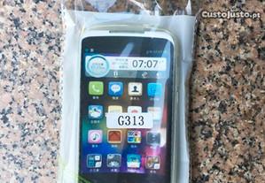 Capa de silicone para Samsung Galaxy Ace 4 (G313)