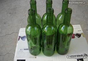 Cada Garrafa Vazia Vidro Verde - Boas P/engarrafar