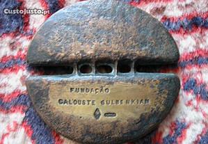Medalhada Sede museu e Fundação Caloust Gulbenkian