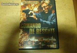 Dvd original comando de resgate