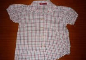 Camisa 12 Meses Muito Bonita e Barata