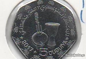 Mauritânia - 5 Ouguiya 1439 (2017) - soberba