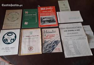 Programas de rallye antigos automobilia
