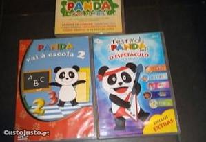 dvds originais panda