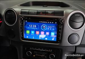 Auto-Rádio VW Amarok Android 9.0 64GB Dvd 8Core