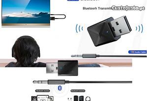 Adaptador receptor transmissor de audio bluetooth