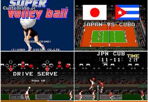Jogo Super Volleyball Ano 1989