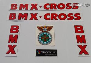 Autocolantes Vilar BMX
