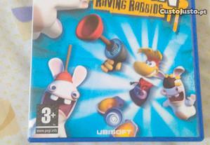 Rayman raving rabbids ps2 como novo