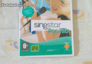 Singstar pop hits ps2 como novo