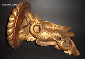 Mísula antiga em madeira