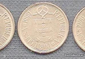 Moedas 1 Escudo 1987-88-89-90-91 Belas