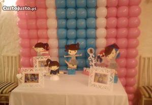 Decoração de festas com balões