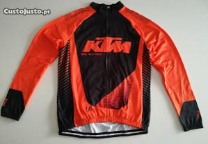 Casaco Tecido Térmico - KTM