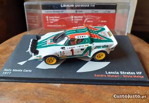Lancia Stratos Hf 1:43 rally monte carlo 1977