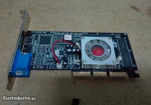 Placa Gráfica GeForce TNT2 64 MB - Usada