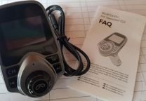Transmissor FM bluetooth