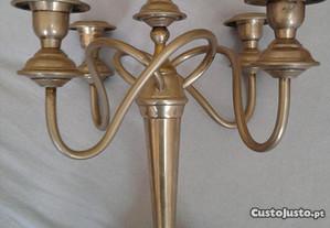 Castiçal de 5 velas em metal