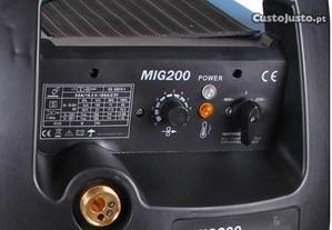Máquina de soldar Mig-Mag (semi- automático)