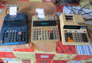 Calculadoras usadas em bom estado.