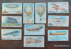 Vinhetas Wills's Cigarettes Aviação 1910