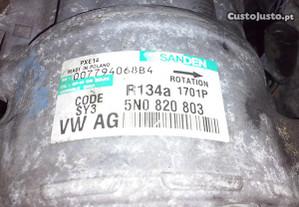 Compressor ar condicionado Audi Seat Vw Skoda
