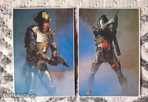 2 Calendários de 1988 - Capitão Power