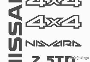 Kit autocolantes Nissan Navara