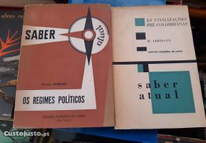 Obras de Maurice Duverger e H. Lehmann