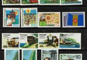 Selos Portugal- Lote diversos anos- MNH
