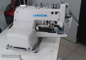 Maquina pregar botão JACK 1377
