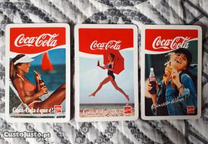 3 Calendários Coca-Cola