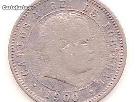 Moeda 5 Reis 1900 mbc