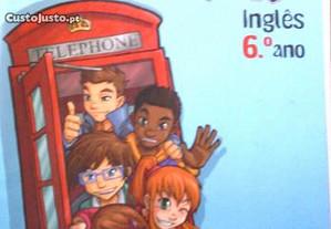 Livro escolar 6º ano Inglês CoolStuff + Workbook