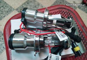 Lâmpadas HID bi-xenon H4 6000k 35w