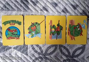 4 Calendários de 1992 - Tortugas Ninja