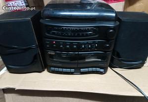 Rádio, Giradiscos e Cassetes