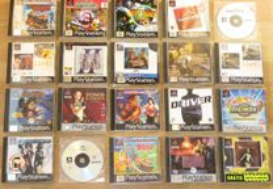 Playstation 1: Lote de Jogos N.3