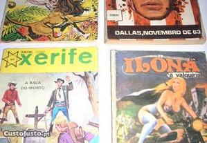 Livros banda desenhada antiga Ag. Port. Revistas
