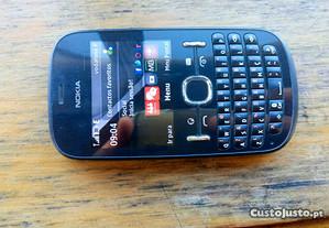 Nokia Asha 201 preto, vodafone