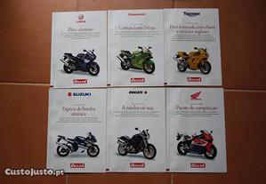 Colecção Revistas motos Suzuki Yamaha BMW Harley