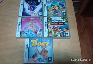 6 jogos Nintendo DS