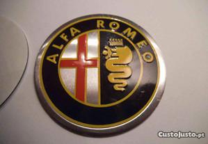 simbolos jantes Alfa romeo colorido 60mm lisos