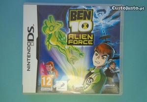Jogos Nintendo DS - Be 10 Alien Force