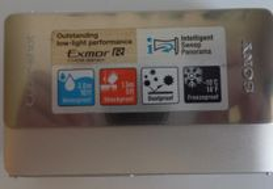 Máquina Foto Sony DSC-TX5 avariada (N44)