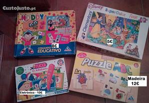 Puzzles e Jogos