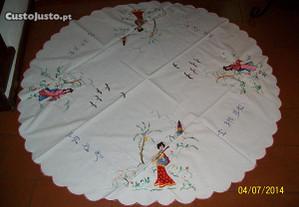 toalha en pano casquinha bordado