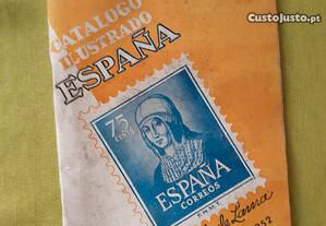 Catalogo de selos espanhol